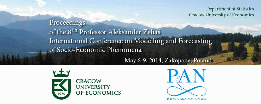 International Conference on Modelling and Forecasting of Socio-Economic Phenomena